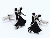 Cufflinks - 'Strictly Come Dancing' Silhouette